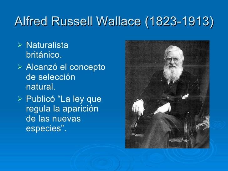 """Resultado de imagen de Wallace, Alfred Russell (1823-1913), naturalista británico"""""""