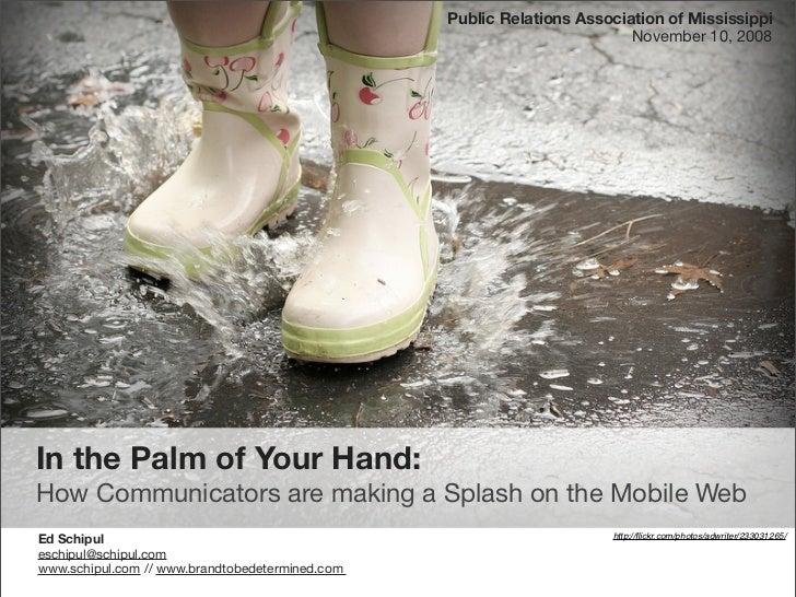 Public Relations Association of Mississippi                                                                          Novem...