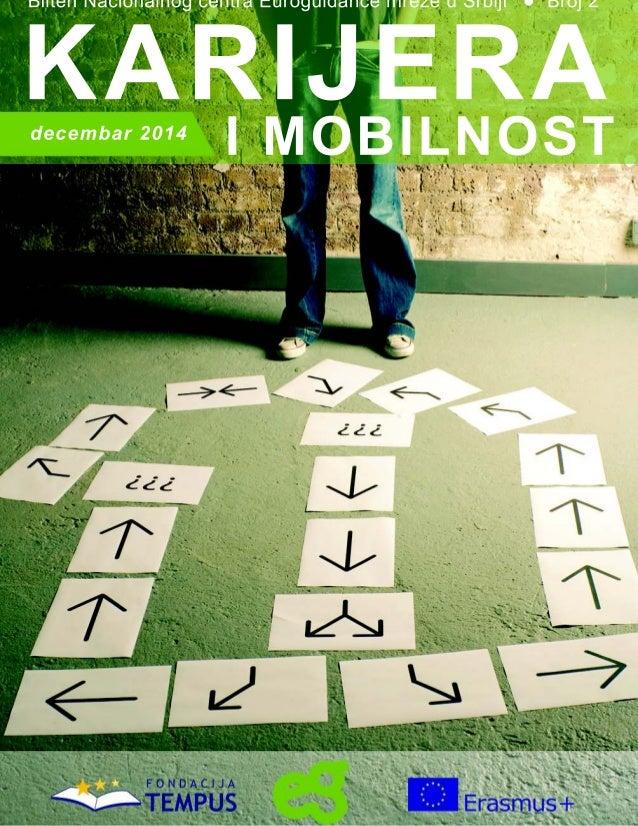 """Bilten """"Karijera i mobilnost"""" br. 2 - Euroguidance centar Srbija"""