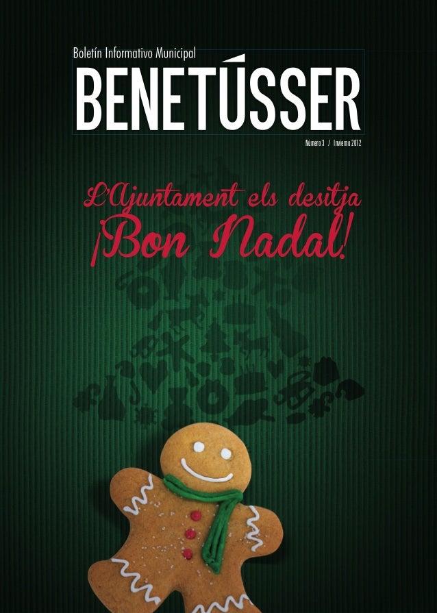 Número 3 / Invierno 2012L'Ajuntament els desit ja¡Bon Nadal!