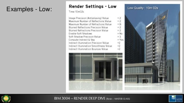 archi tech a look at revit rendering settings