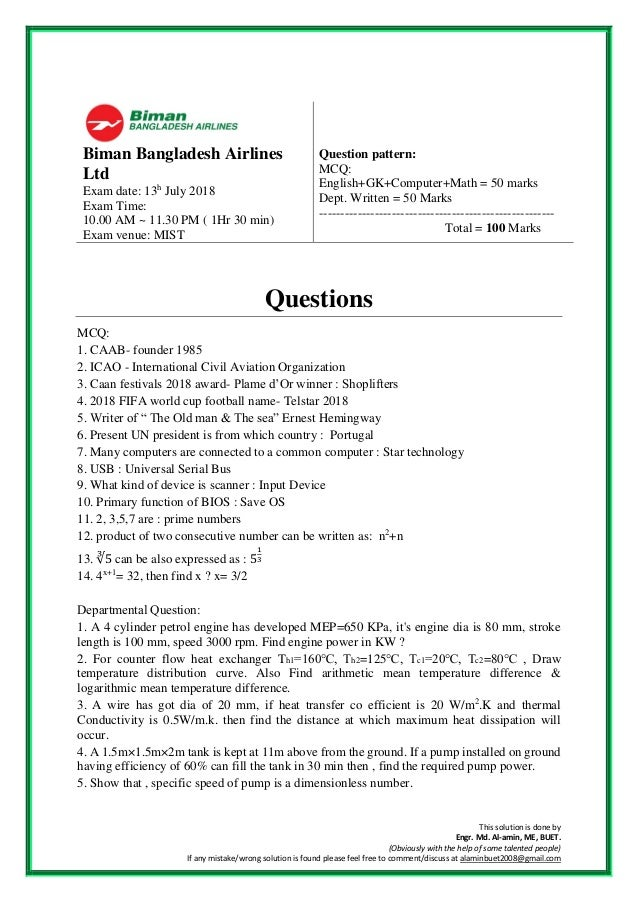 This solution is done by Engr. Md. Al-amin, ME, BUET. (Obviously with the help of some talented people) If any mistake/wro...