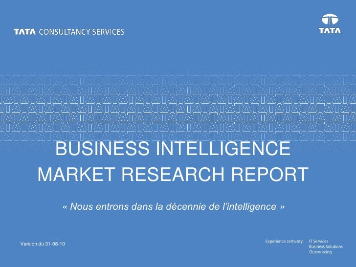 Bi market research tata tcs 2010 08