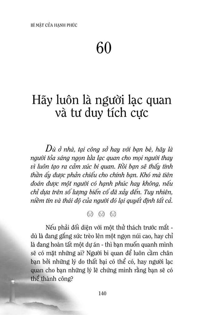 Ebook Bí mật của hạnh phúc [doantronghieu.com]