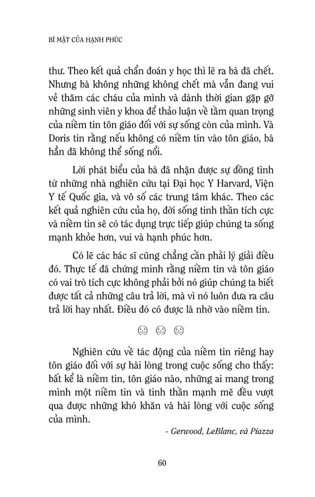 62 BÍ MAÄT CUÛA HAÏNH PHUÙC Coù leõ baïn seõ lieân töôûng ñeán nhöõng caâu chuyeän töông töï maø baïn ñaõ töøng ñöôïc nghe...
