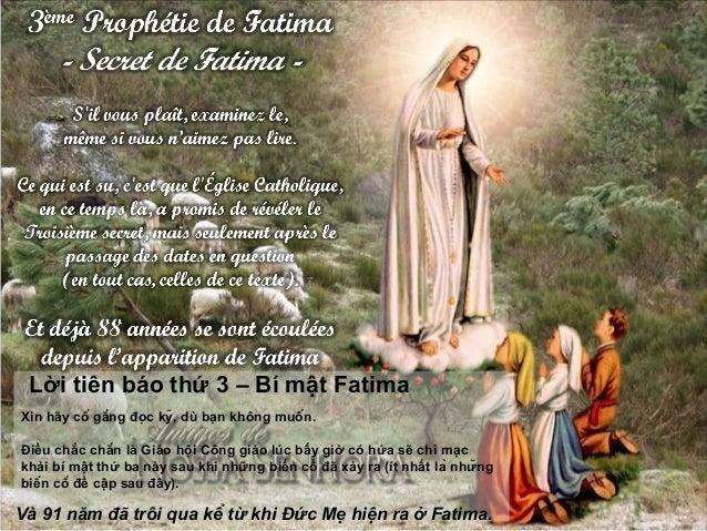 Xin hãy cố gắng đọc kỹ, dù bạn không muốn. Điều chắc chắn là Giáo hội Công giáo lúc bấy giờ có hứa sẽ chỉ mạc khải b...