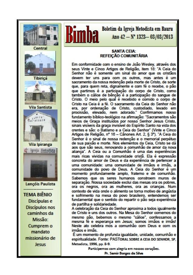 Bimba 03 03 2013  santa ceia    refeição comunitária