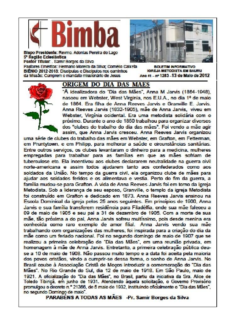 Bimba 13 05 2012 dias das mães