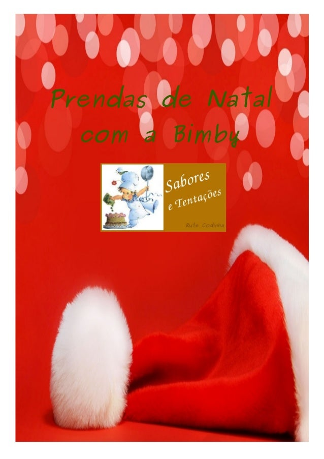 Prendas de Natal com a Bimby