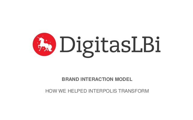 BRAND INTERACTION MODEL HOW WE HELPED INTERPOLIS TRANSFORM