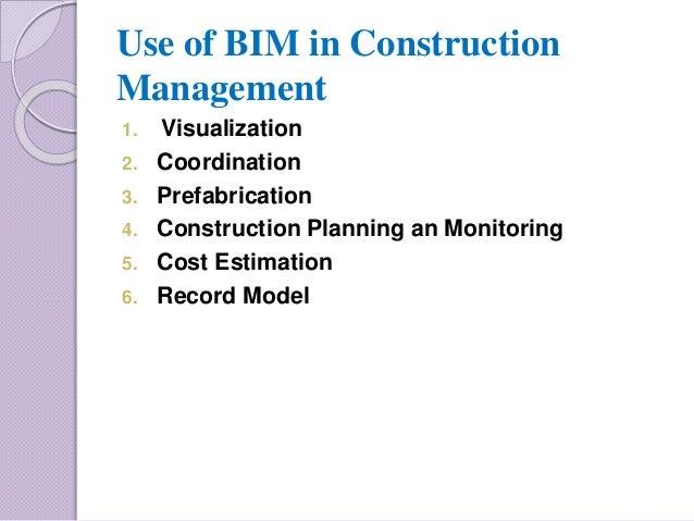 Bim In Construction Management