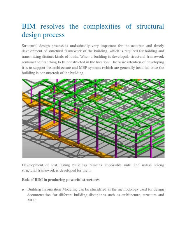 Bim Resolves The Complexities Of Structural Design Process