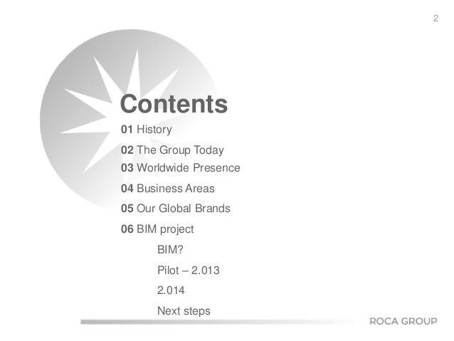 Roca Groups presentation on BIMobject LIVe 2014 Slide 2