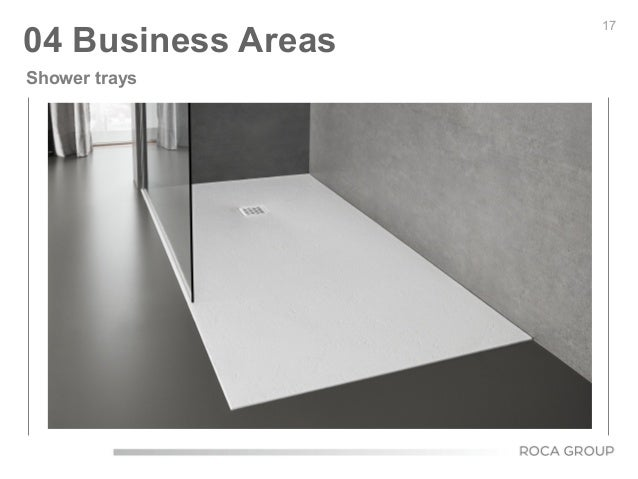17 04 Business Areas Shower trays