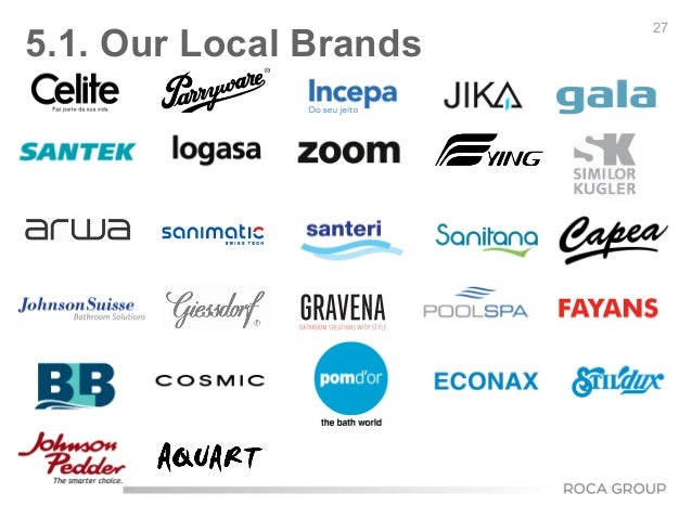 27 5.1. Our Local Brands