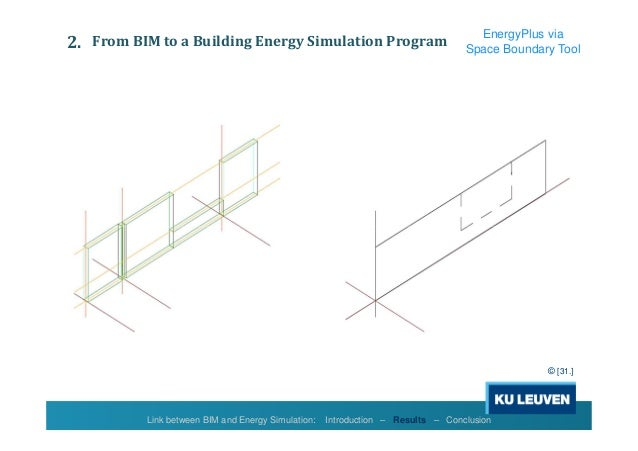 Bim show live 2015 link between bim and energy simulation - Direct energie simulation ...