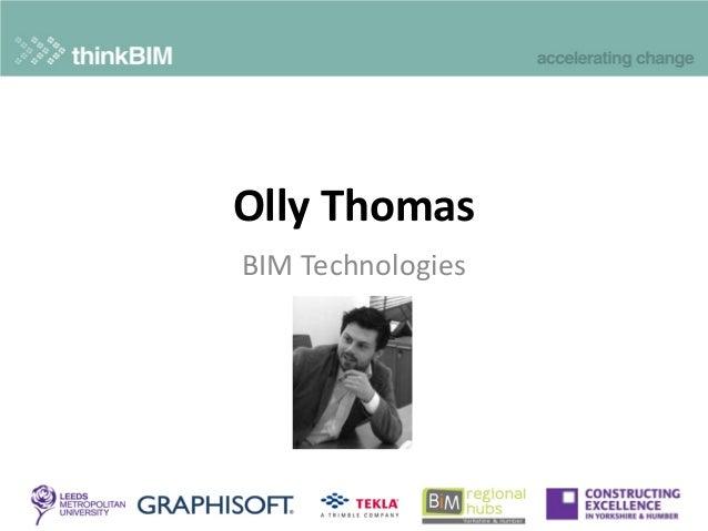 Olly Thomas BIM Technologies