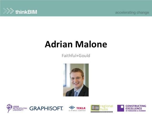 Faithful+Gould Adrian Malone