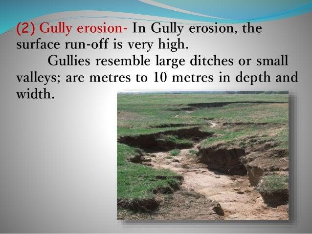 types of soil erosion pdf