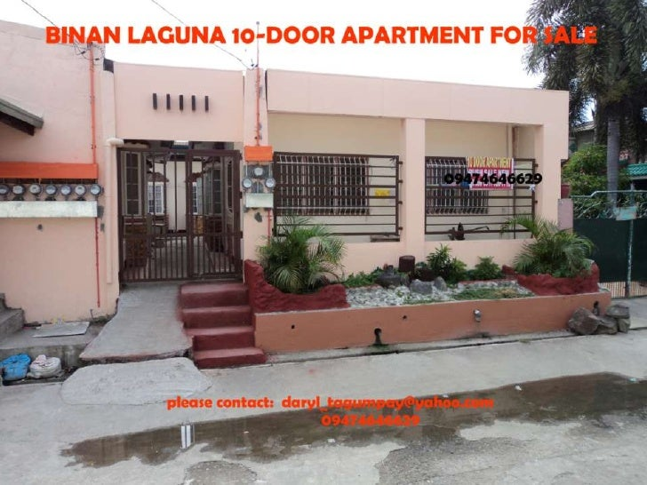 10 Door Apartment In Binan Laguna Php3 5m