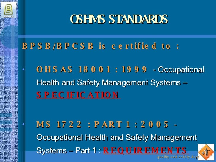 occupational health and safety management system development Pshsa's health and safety management system (hsms) is  employee health,  safety and wellness, provide  develop a robust foundation to support and.
