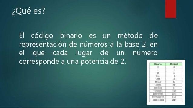 ¿Qué es un corredor binario?