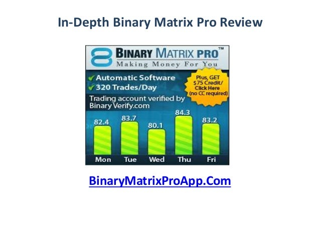 Binary options matrix