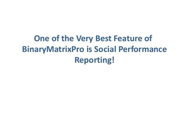 Binary options matrix pro