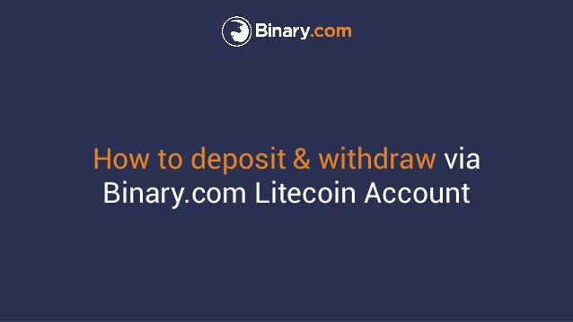 cara deposit binary