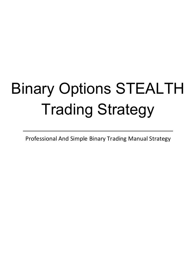 binary options strategy sinhala