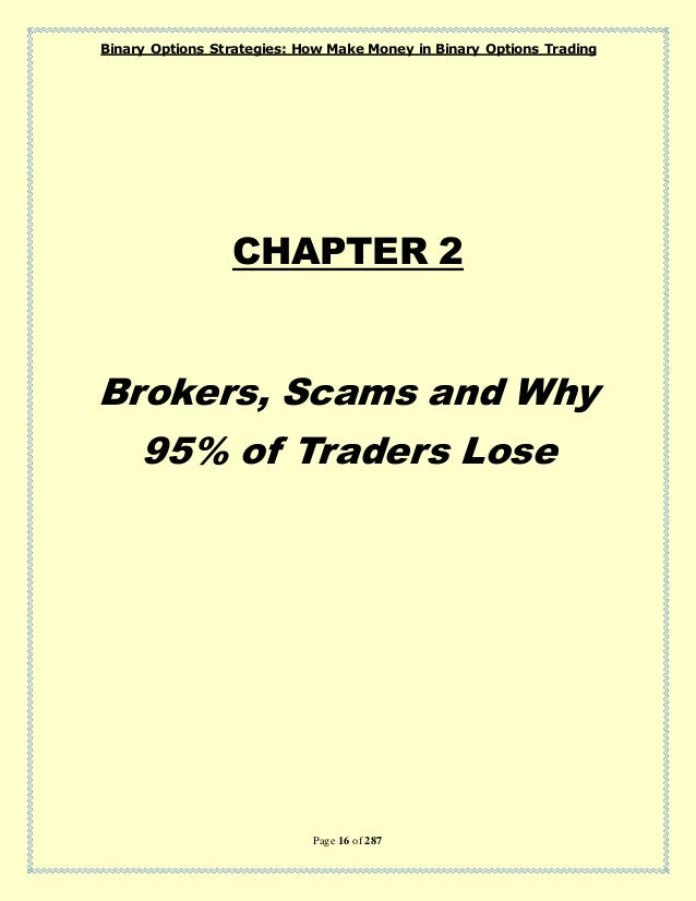 how to trading binary options ebooks