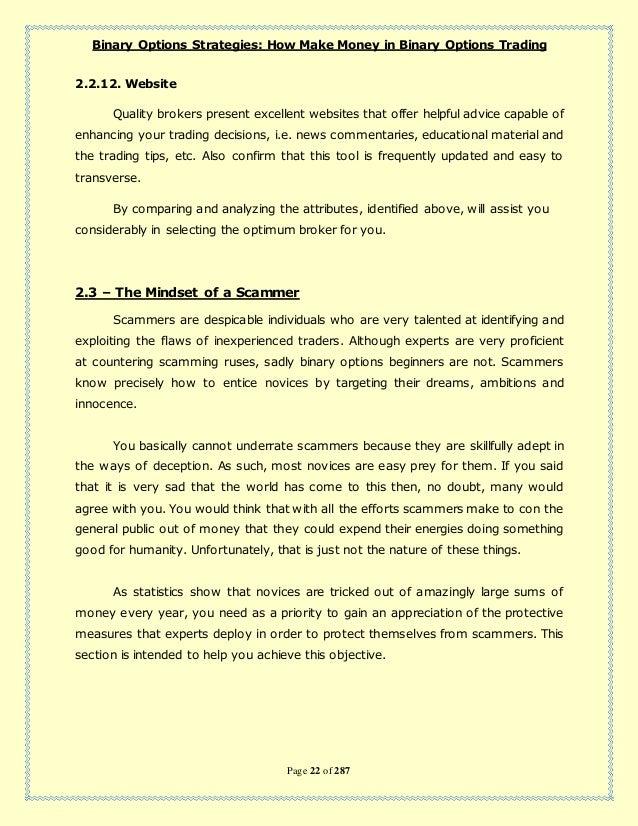 Binary options ebook pdf