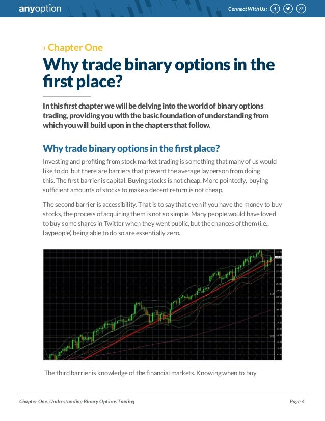 E trade binary options