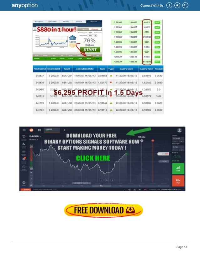 Thread free binary options system binary options prophet