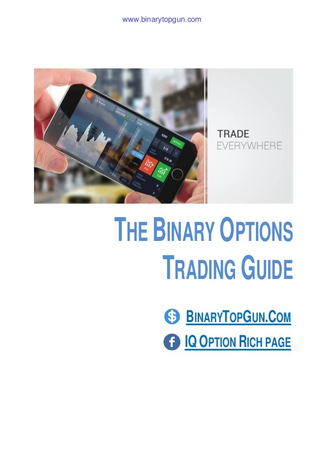 Binary options landing page