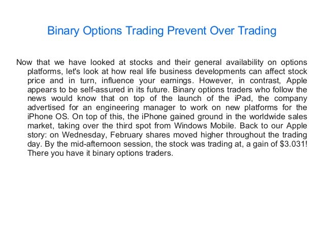 Simple definition of binary option
