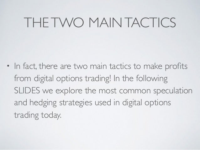 Best strategies for options trading