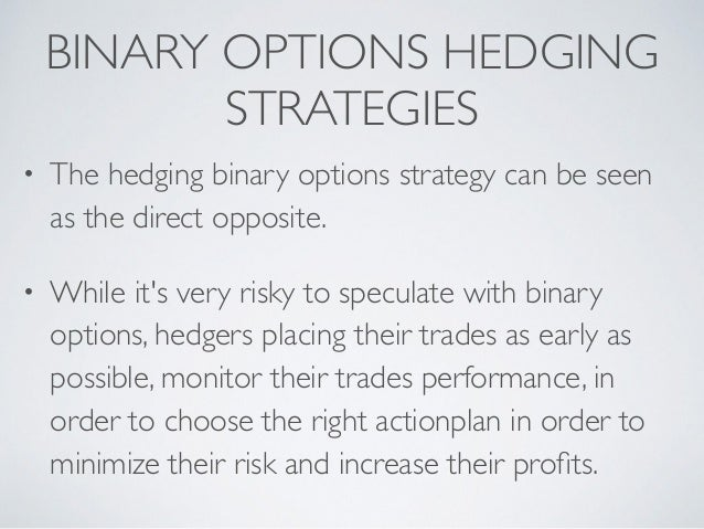 Binary option strategy 2016