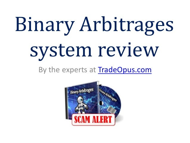 Binary trading system review