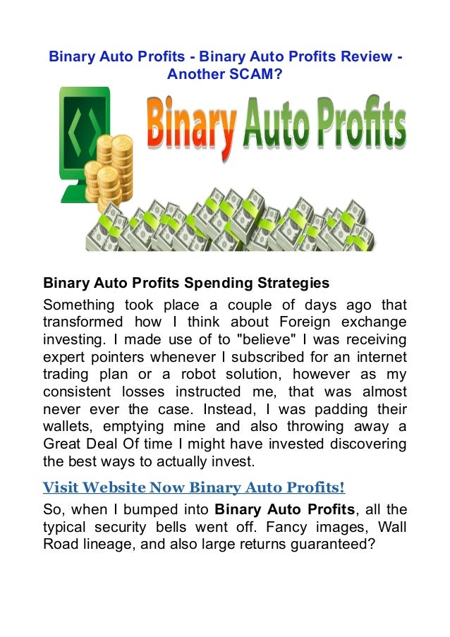 Profit binary review