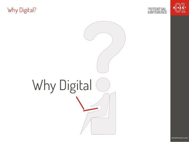 Why Digital? EMPOWERED OTENTIAL www.binaryic.com Why Digital