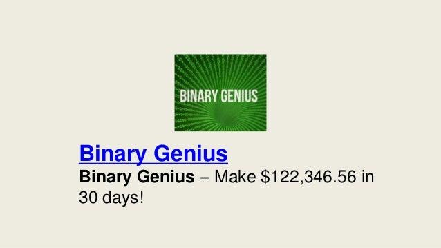 Binary option genius