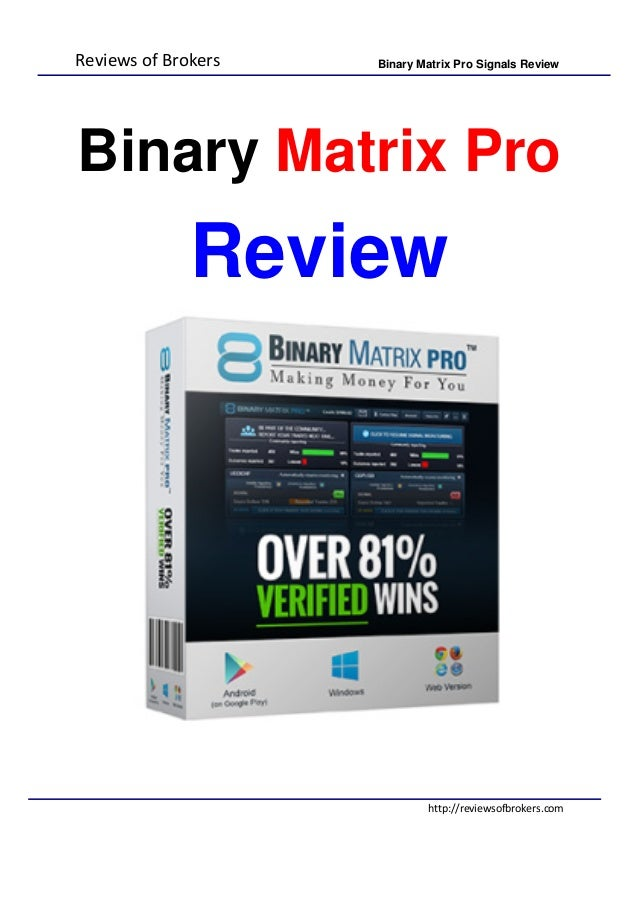 binary options pro signals facebook engine