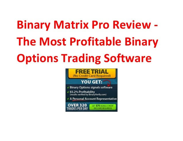 Most profitable binary options indicator