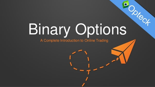 Binary options trading advantages
