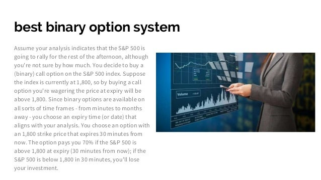 Best binary options broker canada