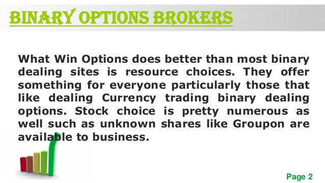 James chen binary options
