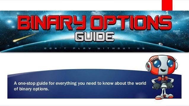 Steve i quit binary options