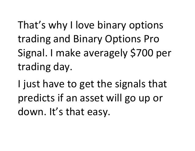 The binary options experts review