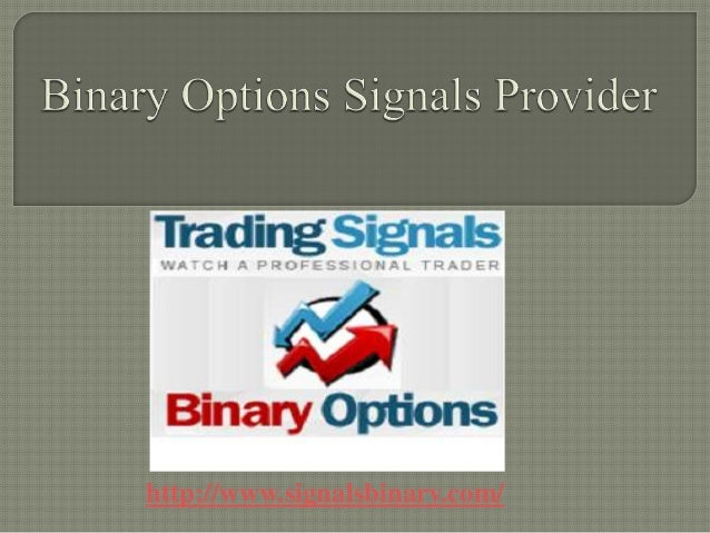 Binary options providers